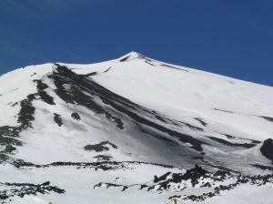 Ein Fallschirmsprung in den Vulkan
